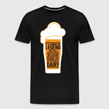 Bachelor Party Bacheloretty Party Legendary - Männer Premium T-Shirt