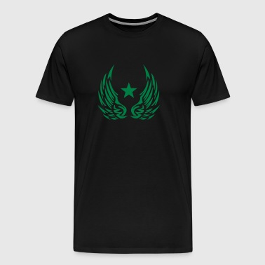 Star wing logo 28052 - Men's Premium T-Shirt