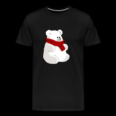 Bear polar bear teddy gift gift idea - Men's Premium T-Shirt