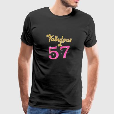 Fabulous at 57 - Men's Premium T-Shirt