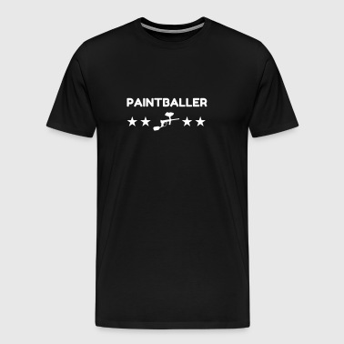 Paintball - Paintballer - Airsoft - Sport - Winner - Men's Premium T-Shirt