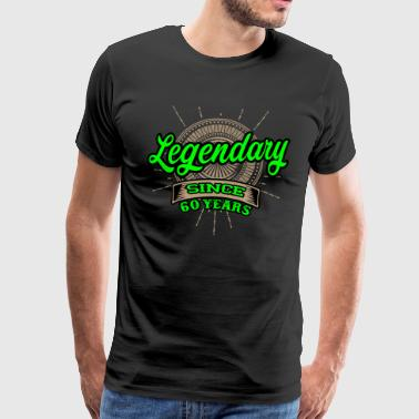 Legendary since 60 years t-shirt and hoodie - Men's Premium T-Shirt