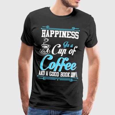 Coffee in the morning, drives grief and worry - Men's Premium T-Shirt