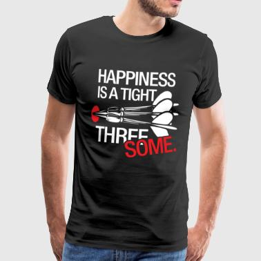 Happiness is a close dinar dart gift - Men's Premium T-Shirt