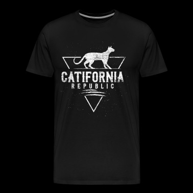 Catania Republik - Herre premium T-shirt