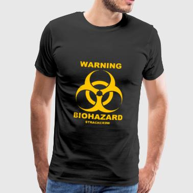 WARNING BIOHAZARD - Männer Premium T-Shirt