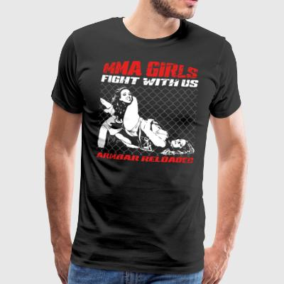 MMA Girls - Fight Wear - Mix Arts Martiaux - JJB - T-shirt Premium Homme