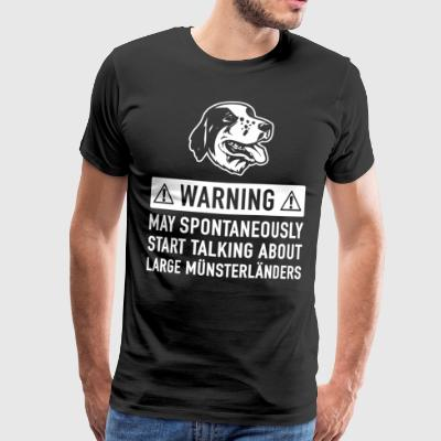 Funny Great Münsterländer Gift Idea - Men's Premium T-Shirt