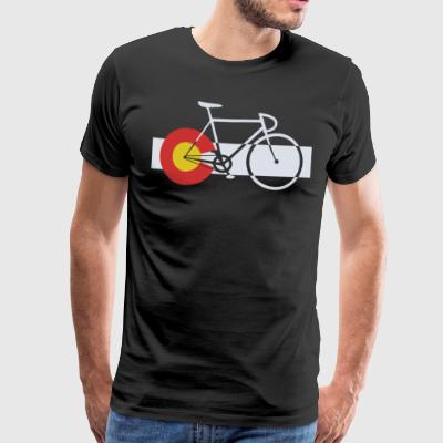 Bike Colorado - Men's Premium T-Shirt