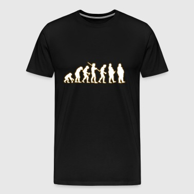 EVOLUTION human DICK - Premium-T-shirt herr