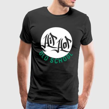 Hip Hop Old School - Premium-T-shirt herr