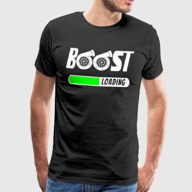 Boost Loading - Turbocharger - Turbo T-Shirt! - Men's Premium T-Shirt