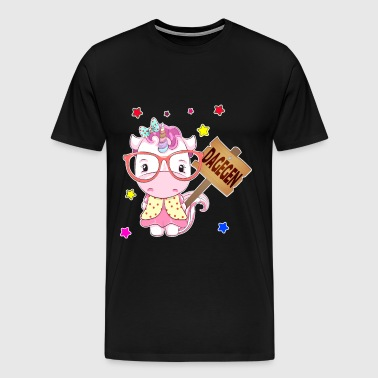 In contrast unicorn - Men's Premium T-Shirt