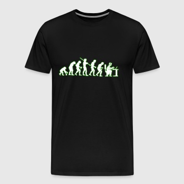 Human EVOLUTION call center - Men's Premium T-Shirt