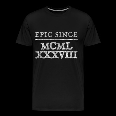 1988 Roman numeral / number Epic Since Birthday - Men's Premium T-Shirt