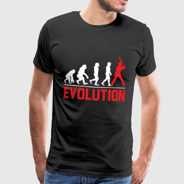 Baseball Evolution Gift Pitcher Sport - Premium-T-shirt herr