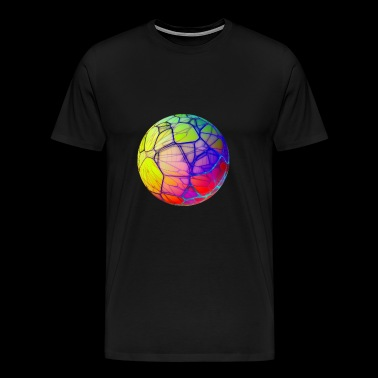 Ball Psychedelic Abstract Gift - Premium-T-shirt herr