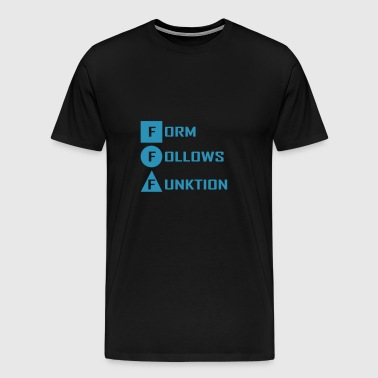 form follows... - Männer Premium T-Shirt