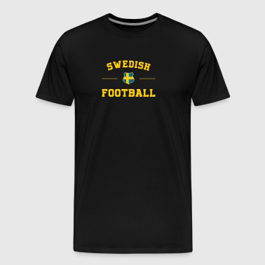 Swedish Football Shirt - Swedish Soccer Jersey - Premium-T-shirt herr