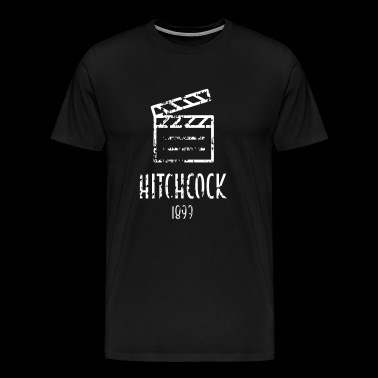 Alfred Hitchcock Famous people - Men's Premium T-Shirt