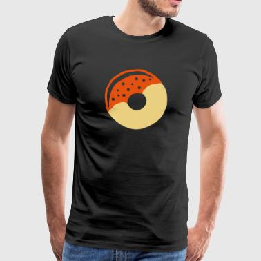Donut with frosting - Men's Premium T-Shirt