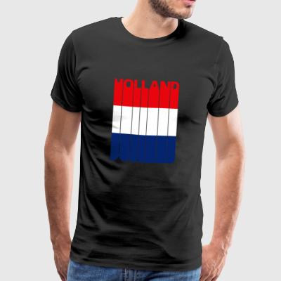 Holland. Flag.The Netherlands.Gifts for Dutch - Men's Premium T-Shirt