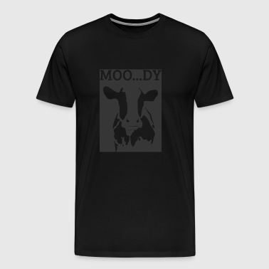 Cow / Farm: Moo ... Dy - Men's Premium T-Shirt