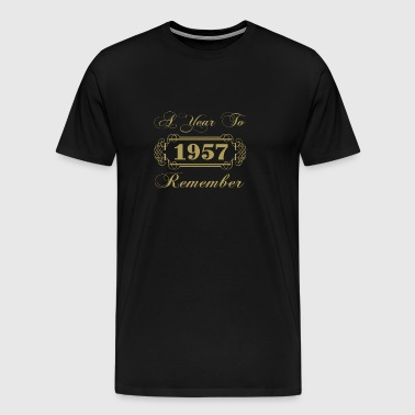 1957 A Year To Remember - Men's Premium T-Shirt