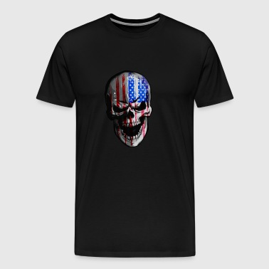 Shirt for bikers / motorcyclists with skull / skull - Men's Premium T-Shirt