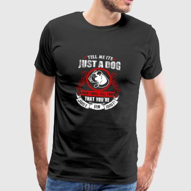 Dogs dog lovers dog love gift - Men's Premium T-Shirt