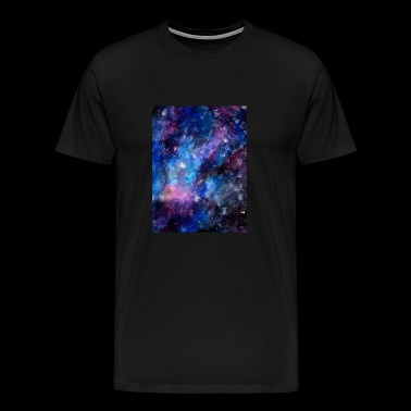 Galaxy - Galaxy Design - stars in space - Men's Premium T-Shirt