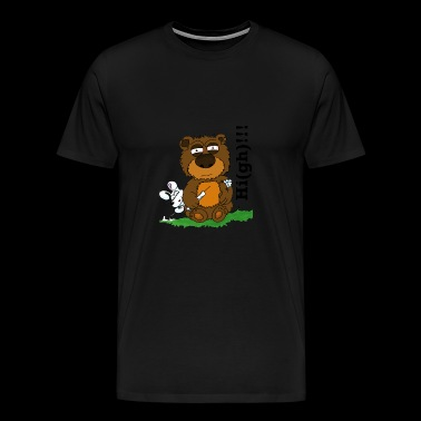 Ted-High - Premium T-skjorte for menn