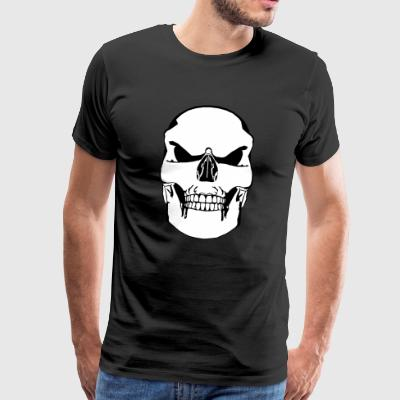 Vector Skull - Men's Premium T-Shirt