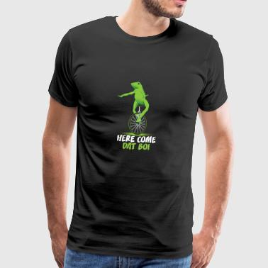 Here Come Dat Boi Animal Frog T-Shirt - Männer Premium T-Shirt