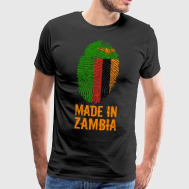 Made In Zambia / Zambia - Mannen Premium T-shirt