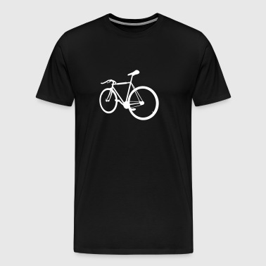 Hipster - Fixie - Men's Premium T-Shirt