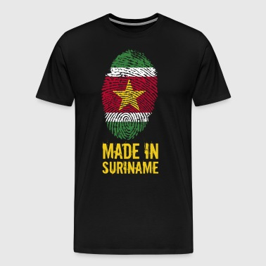 Made In Surinam / Surinam / sranan - Premium T-skjorte for menn