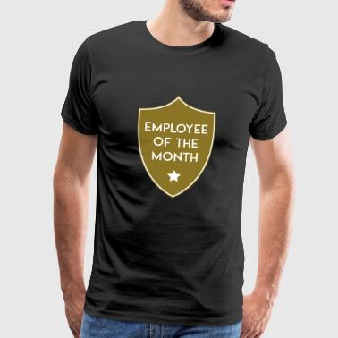 EMPLOYEE OF THE MONTH SHIELD - Men's Premium T-Shirt