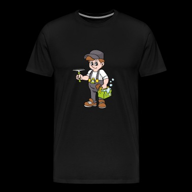 Building cleaner Window cleaner - Men's Premium T-Shirt