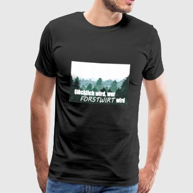forestry - Men's Premium T-Shirt