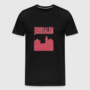 Jerusalem City - Men's Premium T-Shirt