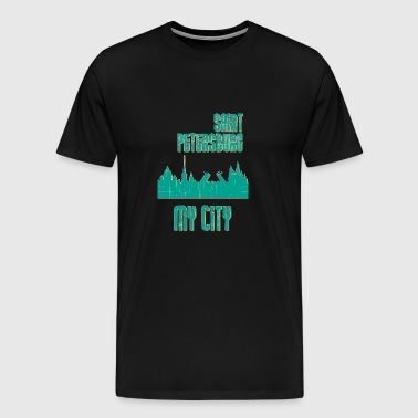Saint Petersburg MY CITY - Men's Premium T-Shirt