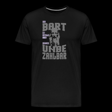 THE BART IS FREE OF CHARGE FREE OF CHARGE! - Men's Premium T-Shirt