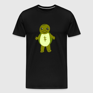Standing turtle - Men's Premium T-Shirt