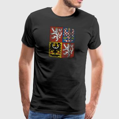 Czech Coat of Arms Czech Republic Symbol - Men's Premium T-Shirt