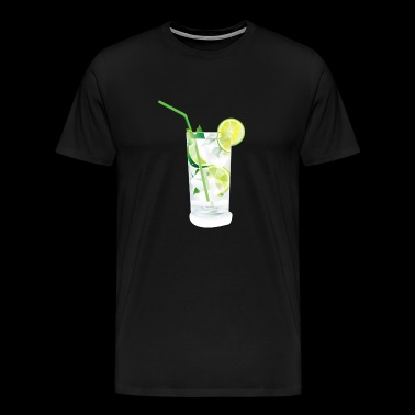 Caipirinha cocktail drinken alcohol idee - Mannen Premium T-shirt