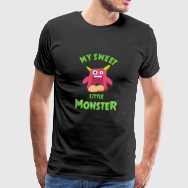Sweet Little Monster - An Adorable Monster - Men's Premium T-Shirt