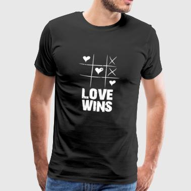 love wins - Männer Premium T-Shirt