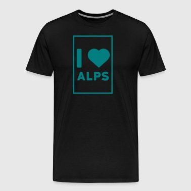 love alps - T-shirt Premium Homme