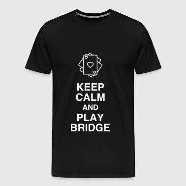 bridge / bridgeur / bridgeuse / cartes - T-shirt Premium Homme